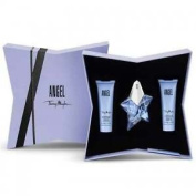 Thierry Mugler Angel - 25ml Edp Set With Body Lotion And Shower Gel.