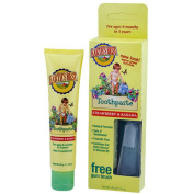EARTH'S BEST TODDLER TOOTHPASTE KIT 45ml
