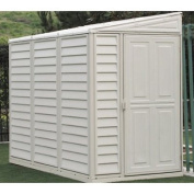 Duramax Sidemate 1.2m x 2.4m Tool Shed with Foundation Kit