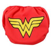 Bumkins DC Comics Swim Nappy,Wonder Woman Icon, Small