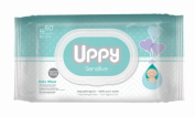 Uppy Wet Wipes for Baby - Sensitive, 60 Ct