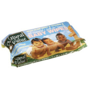 Natural Value Baby Wipes Refills, 80ct 13pk