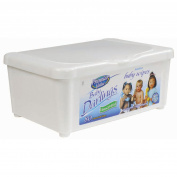 Premier Value Baby Wipes Tub Unscented - 80ct