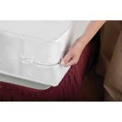 Home Basics PVC Zippered Mattress Cover