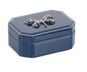 Heirloom Wooden Dragonfly Glass Box,