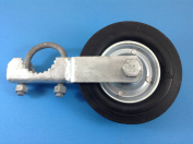 Gate Helper Wheel for Supporting Gates with 2.5cm - 1cm thru 5.1cm Gate Frames - Gate Helper Wheel to Prevent Gate from Dragging - Gate Support Wheel