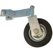 Gate Wheel Swivel Style for Supporting Gates with 2.5cm - 1cm Gate Frames - Gate Helper Wheel to Prevent Gate from Dragging - Gate Wheel
