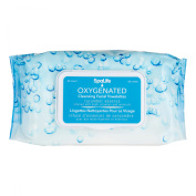 My Spa Life Facial Towellettes, Oxygenated Cleansing, 60 Count