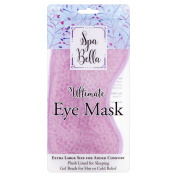 Spa Bella Plush Fabric Lining Ultimate Eye Mask