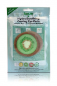 My Spa Life Hydro Soothing Cooling Eye Pads, Kiwi , 6 Ct