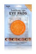 My Spa Life Soothing Spa Eye Pads, Orange, 4 Ct