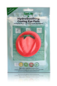 My Spa Life Hydro Soothing Cooling Eye Pads, Strawberry, 6 Ct