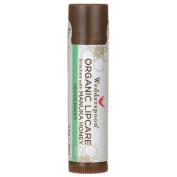 Wedderspoon Organic Lipcare with Manuka Honey, Peppermint, 5ml