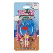 Expressions Girl Monster Lip Balm, Beach Girl Chocolate, 5ml
