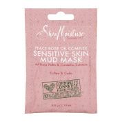 Shea Moisture Sensitive Skin Mud Mask Peace Rose Oil Complex, 15ml