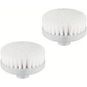 Vanity Planet Spin for Perfect Skin Replacement Face Exfoliating Brush Heads, 2 count