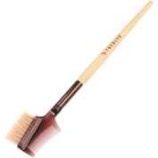 The BLVD All-Natural Bamboo Handle Brow & Lash Comb