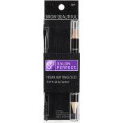 Salon Perfect Brow Beautiful Highlighting Duo Eyebrow Pencil, Light, .300ml