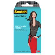 Scotch Essentials White Mark Eraser, 1 Eraser/Pack