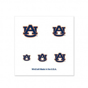 Auburn Tigers Fingernail Tattoos - 4 Pack