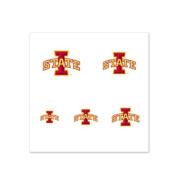 Iowa State Cyclones Fingernail Tattoos - 4 Pack