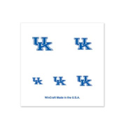 Kentucky Wildcats Fingernail Tattoos - 4 Pack