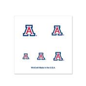 Arizona Wildcats Fingernail Tattoos - 4 Pack