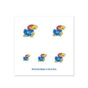 Kansas Jayhawks Fingernail Tattoos - 4 Pack