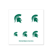 Michigan State Spartans Fingernail Tattoos - 4 Pack