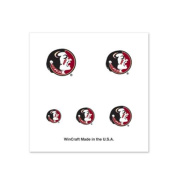 Florida State Seminoles Fingernail Tattoos - 4 Pack