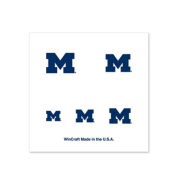 Michigan Wolverines Fingernail Tattoos - 4 Pack