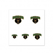 Baylor Bears Fingernail Tattoos - 4 Pack