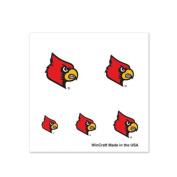 Louisville Cardinals Fingernail Tattoos - 4 Pack