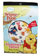 Disney's Winnie the Pooh Asorted Character Temporary Tattoo Pack