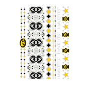 Iowa Hawkeyes Jewellery Flash Tattoos