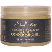 SheaMoisture Jojoba OIl & Ucuuba Butter Braid Condition Gel with Carrot Seed Oil, 350ml