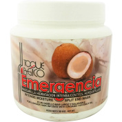 Intense Moisture Split End Mask by Toque Magico Emergencia for Unisex, 950ml