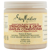 SheaMoisture Jamaican Black Castor Oil Strengthen & Grow Leave-In Conditioner, 180ml