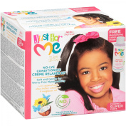 Just for Me Children's Super No-Lye Conditioning Creme Relaxer Kit 11 pc Box