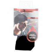 Dri Sweat Pro Men's Active Wear Skull Cap, Black