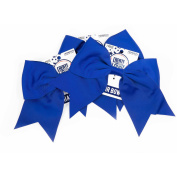 Horizon Group USA Create Out Loud Blue Grosgrain Hair Bow, 3pk