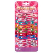 Enchanté Accessories Kids Hair Clips, 36 count