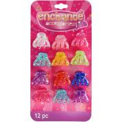 Enchante Accessories Kids Hair Clips, 12 ct