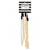 Gimme Classic Style Ivory Headwraps, 3 count