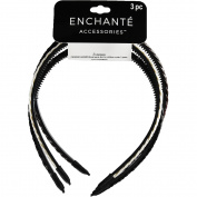 Enchante Accessories Braided Headbands, 3 ct