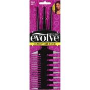 Evolve Super Styler Comb, Black