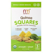 NurturMe Pineapple and Spinach Quinoa Squares, 50ml