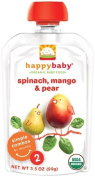 Happy Baby Organic Stage 2 Baby Food Spinach, Mango & Pear