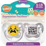 Ulubulu Really Don't Want Sleep, 6-18 Month, 2-Pack
