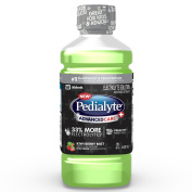 Pedialyte AdvancedCare Plus Electrolyte Solution with 33% More Electrolytes and has PreActiv Prebiotics, Electrolyte Drink, Kiwi Berry Mist, Liquid, 1-L